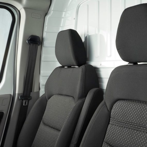 Maxus Deliver 9 - Standard spec - durable seat clothing