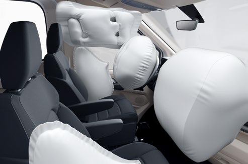 Maxus Deliver 9 - Standard spec - 6 air bags