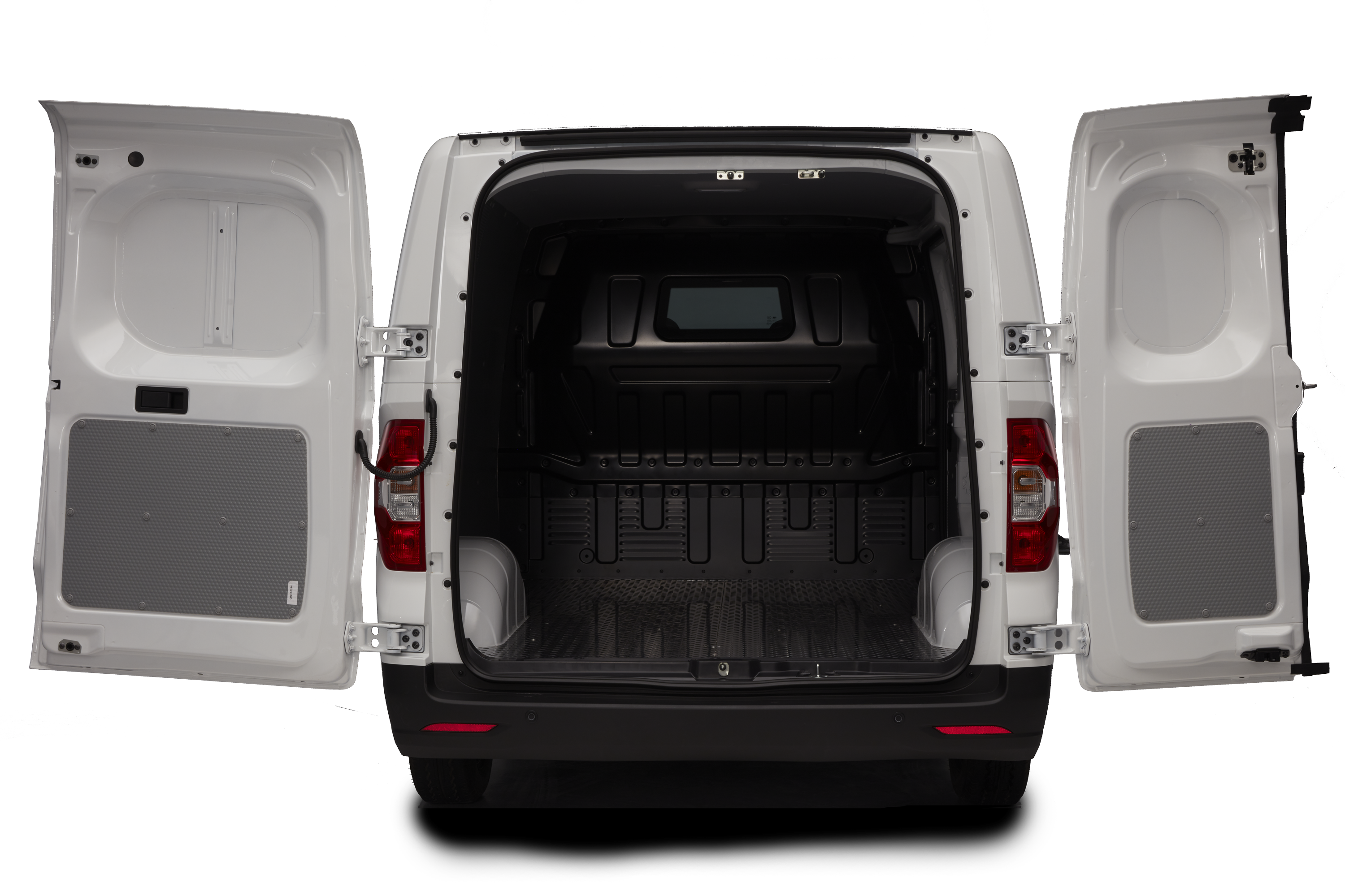 e Deliver 3 - rear barn doors open (standard)