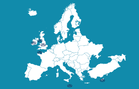 Saic Maxus Ireland distributor map