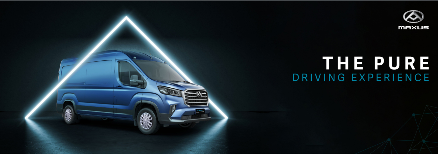 Maxus Deliver 9 - The pure driving experience