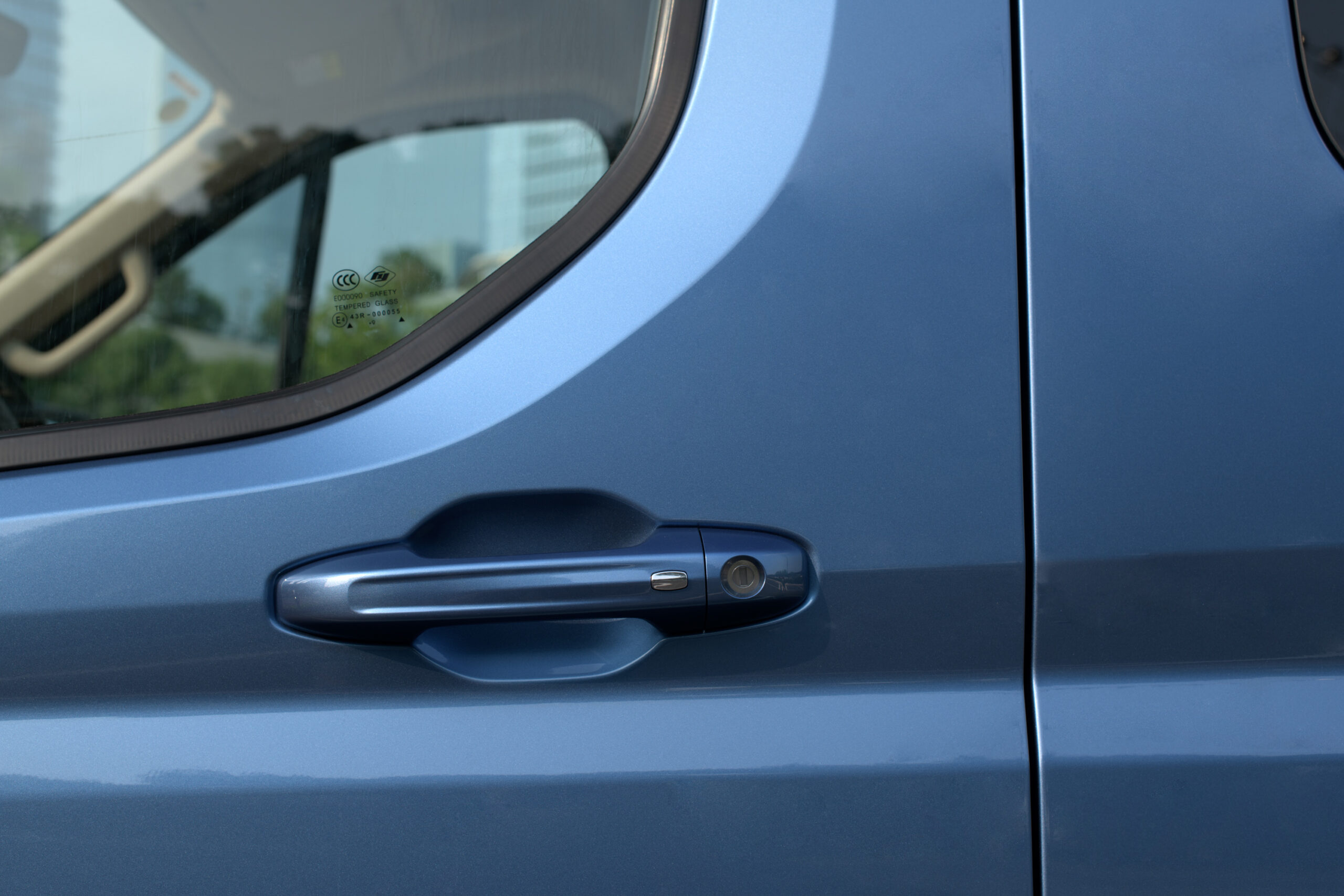Maxus Deliver 9 - Luxury spec - handles