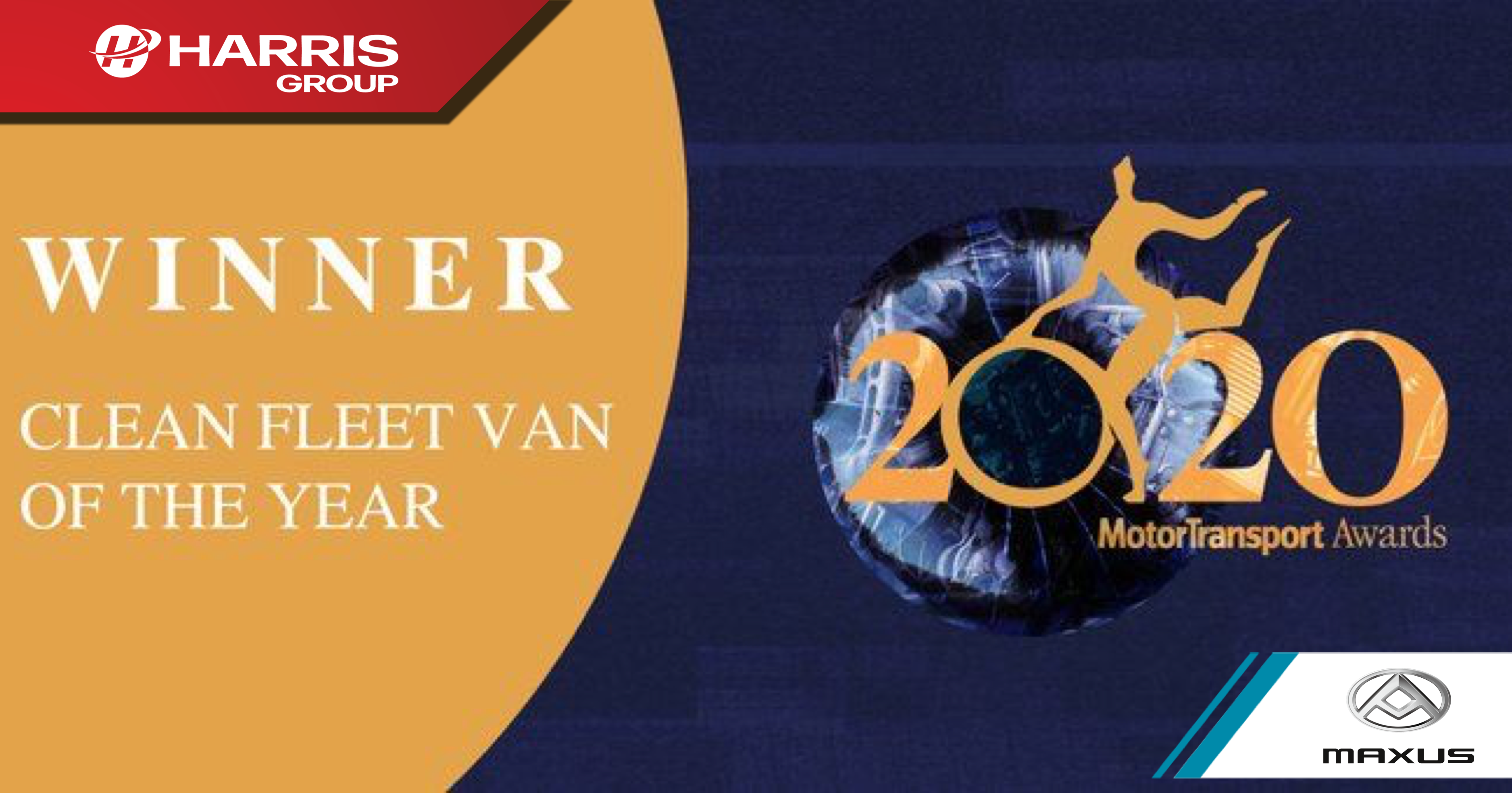 Maxus EV80 Clean fleet van of the year